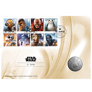 2017 Royal Mail Star Wars Medal Cover 3