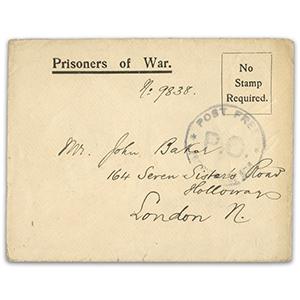 First World War PoW Cover