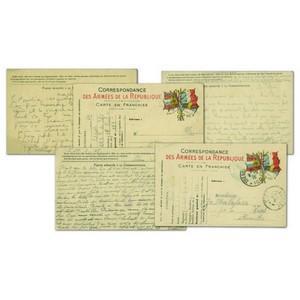 Original WWI Postcards (Image 1) Set of 5