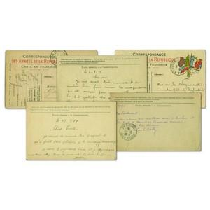 Original WWI Postcards (Image 2) Set of 5