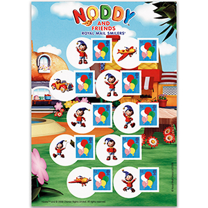 Royal Mail Smilers for Kids Noddy A5 Pack - New