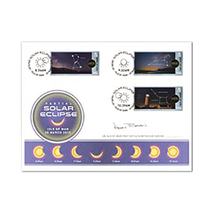 2015 Isle of Man - Eclipse Alan Bean Signed FDC Pack