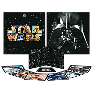 Royal Mail Star Wars 40th Anniversary Collectors Set