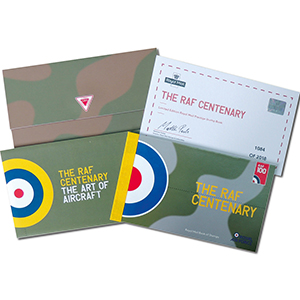 RAF Centenary Limited Edition Prestige Booklet