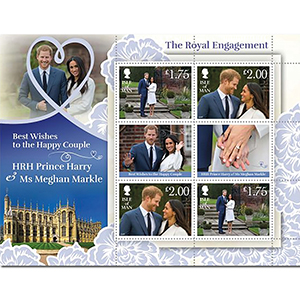 IOM Harry & Meghan - A Celebration Special Stamp Sheetlet