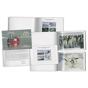 2013 French Antarctic Territory Antarctic Voyage Prestige Stamp Booklet