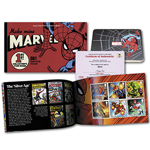 2019 Marvel Limited Edition Prestige Stamp Book