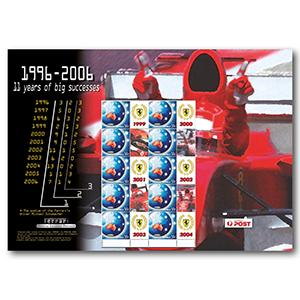 Ferrari 11 Years of Big Success 2006 - Sheet - Australia