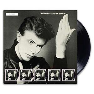"""2017 David Bowie """"Heroes"""" Fan Sheet"""