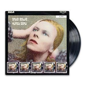 """2017 David Bowie """"Hunky Dory"""" Fan sheet"""