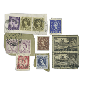 200g Used Wildings Stamps