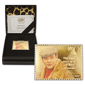 2021 Only Fools & Horses 24ct Gold Stamp