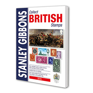 Stanley Gibbons 2016 Collect British Stamps Catalogue