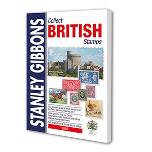 Stanley Gibbons 2018 Collect British Stamps Catalogue