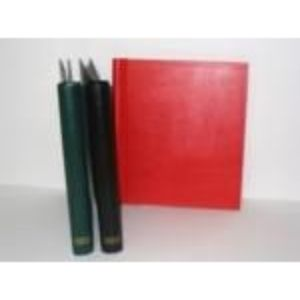 Standard Springback Binder with Plain Spine and Gold Foil Album Spine Lavel Sheet. Size: 290 X 265mm