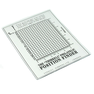 THIRKELL POSITION FINDER FOR STAMPS