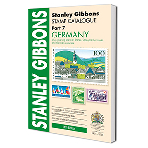 Stanley Gibbons Germany Stamp Catalogue 11th Edition 2014