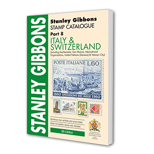 Italy & Switzerland Stamp Catalogue 8th Edition