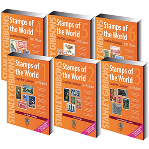 2017 Stamps of the World (Set of 6 Catalogues)