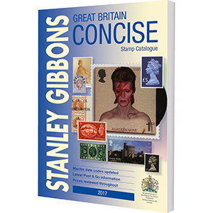 Stanley Gibbons 2017 Great Britain Concise Stamp Catalogue