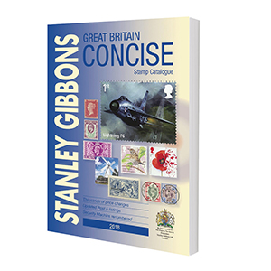 2018 Great Britain Concise Stamp Catalogue