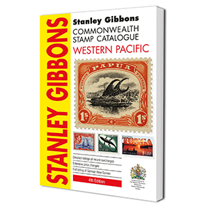 Stanley Gibbons Western Pacific Stamp Catalogue 4th Edition 2017