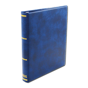 Stanley Gibbons Universal Cover Album with Leaves (BLUE)