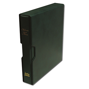 Malvern Cover Album and Slipcase (Green)