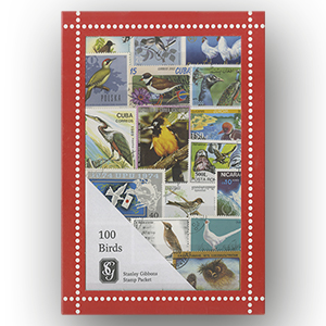 100 SG Birds Stamps