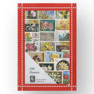 100 SG Flowers Stamps