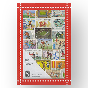 100 Football Stamps