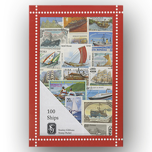 100 Ships Stamps