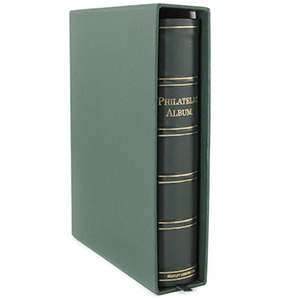 The Philatelic Album and Slipcase with Faced Leaves (20 Leaves)