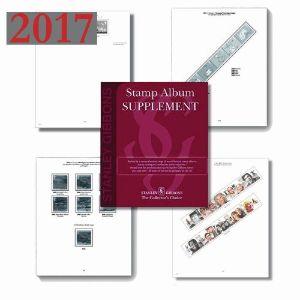 2017 GB Commem. & Greetings Hingeless Commemorative Supplement