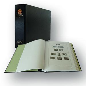 Stanley Gibbons Queen Elizabeth II Luxury Hingeless Vol. 1 Stamp Album (1952 - 1989)