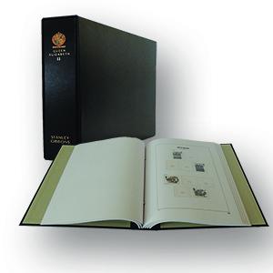 Stanley Gibbons Queen Elizabeth II Luxury Hingeless Vol. 2 Stamp Album (1990 - 1999)