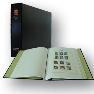 Stanley Gibbons Queen Elizabeth II Luxury Hingeless Vol. 3 Stamp Album (2000 - 2007)