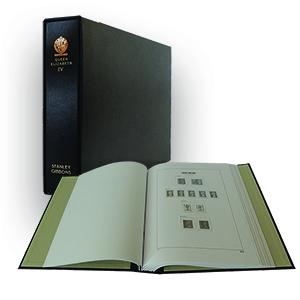 Stanley Gibbons Queen Elizabeth II Luxury Hingeless Vol. 4 Stamp Album (2008 - 2011)