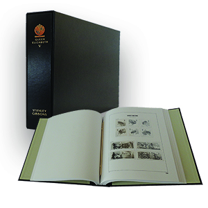 Stanley Gibbons Queen Elizabeth II Luxury Hingeless Vol. 5 Stamp Album (2012 - 2015)