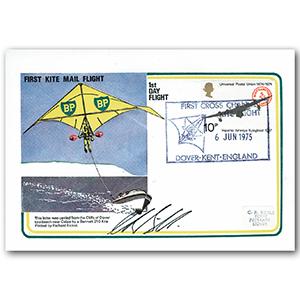 1975 First Kite Mail - Signed Richard Bickel