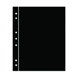 Hagner 1-Strip Single Sided Black Stocksheets