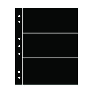 Hagner 3-Strip Single Sided Black Stocksheets