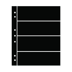 Hagner 4-Strip Single Sided Black Stocksheets