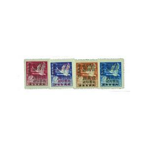 E. China E.C397/400 unused 1949 Parcel Post set/4