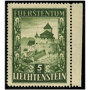 Liechtenstein S.G.304 1951/2 5f Vaduz Castle mint