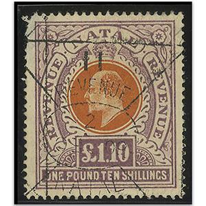 Natal 1904-08 £1.10 used