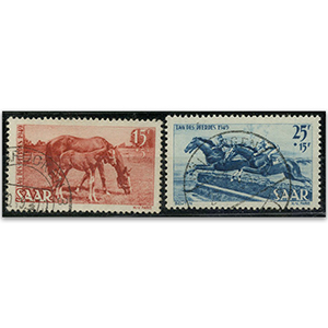 Saar S.G.262-3 1949 Horse Day used