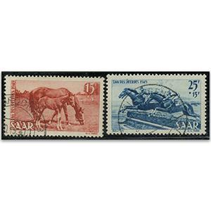 Saar S.G.262-3 1949 Horse Day used