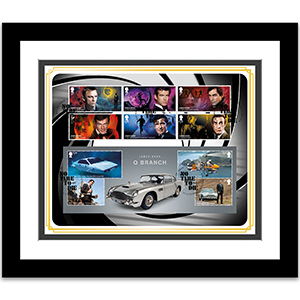James Bond Cover Framed Edition