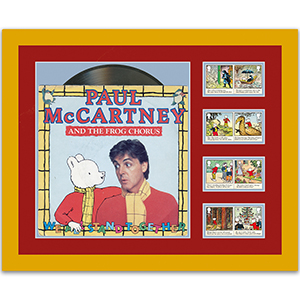 Rupert Bear Stamp & Vinyl Edition